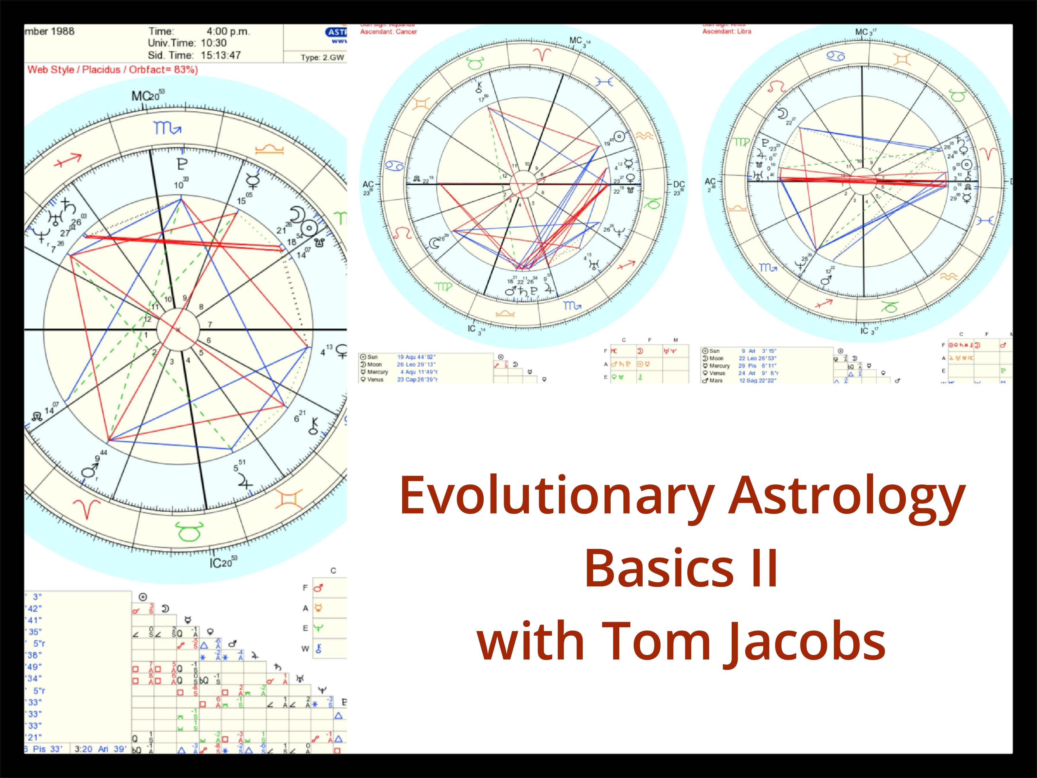 Learn Astrology - Tom Jacobs